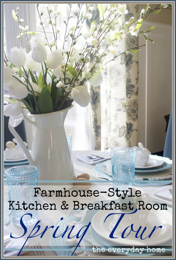 Spring Kitchen and Breakfast Room Tour | The Everyday Home