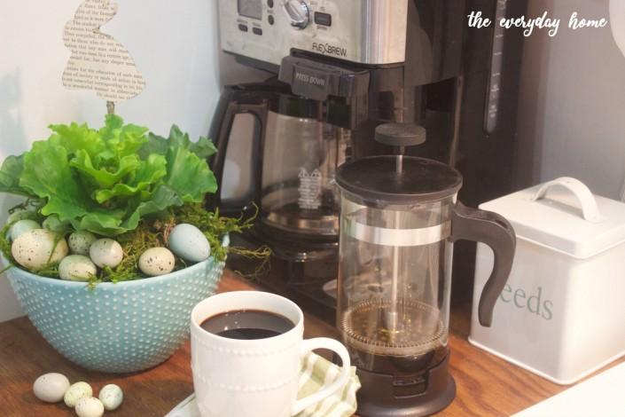 Spring Lettuce Vignette | The Everyday Home