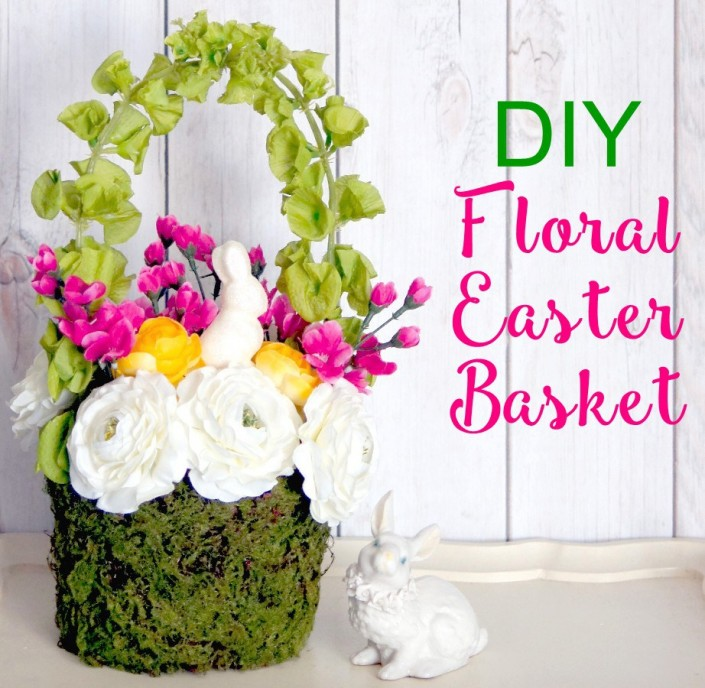 diy-floral-easter-basket