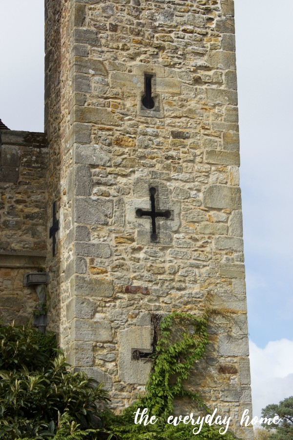 hever Castle Turret | The Everyday Home