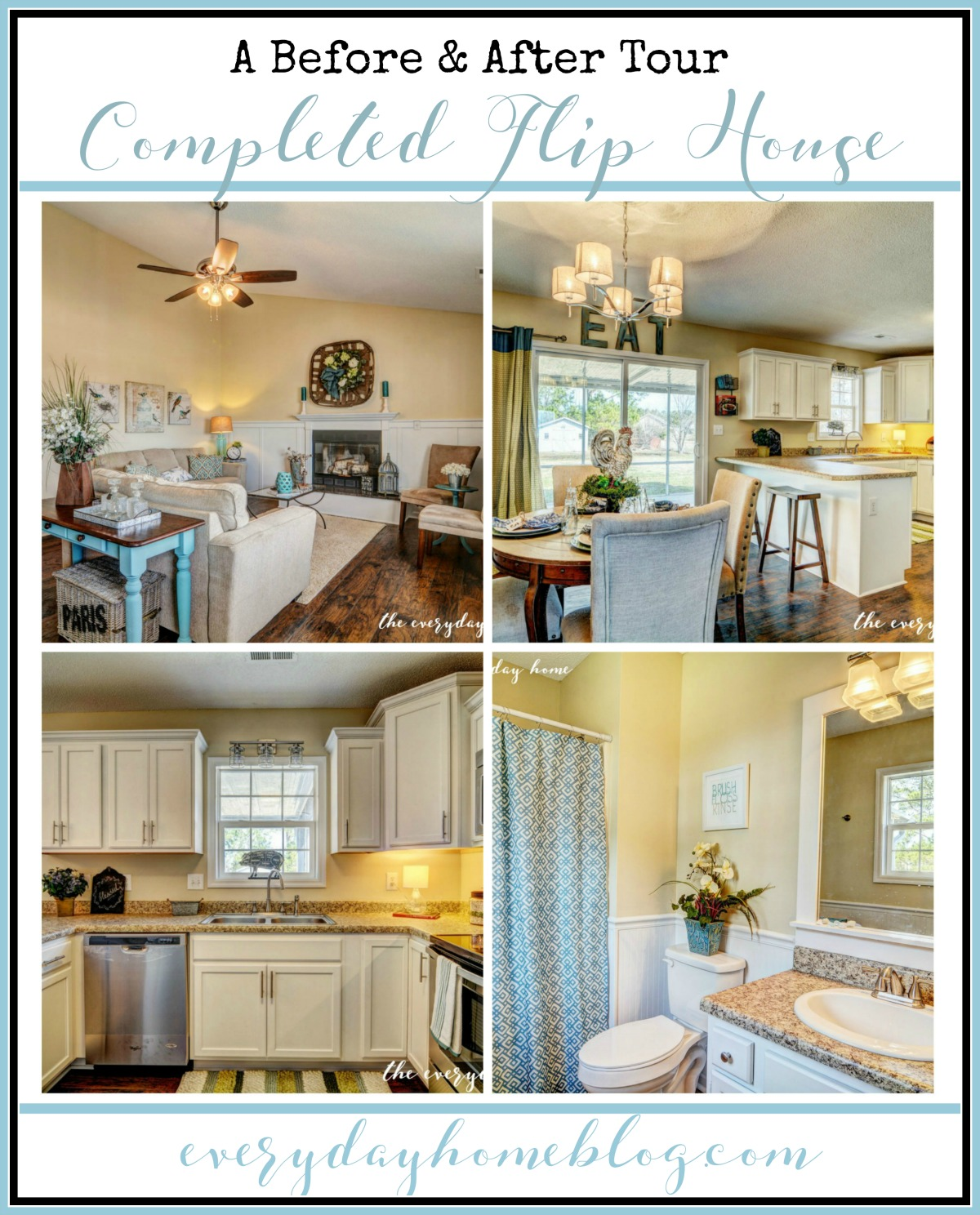 Kitchen Staging Before And After: Before And After Fixer Upper