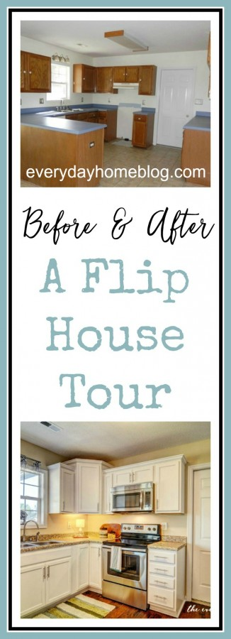 A Flip House Tour | Before & After | The Everyday Home