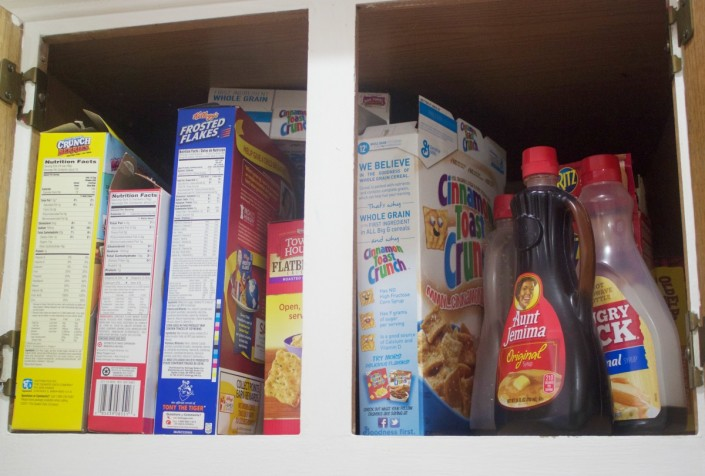 Cereal Cabinet Before | The Everyday Home
