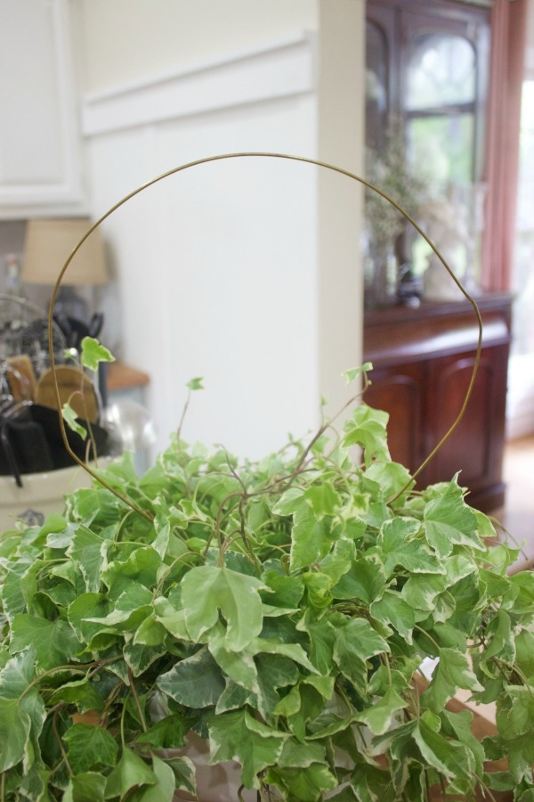 Creating a Wire Topiary