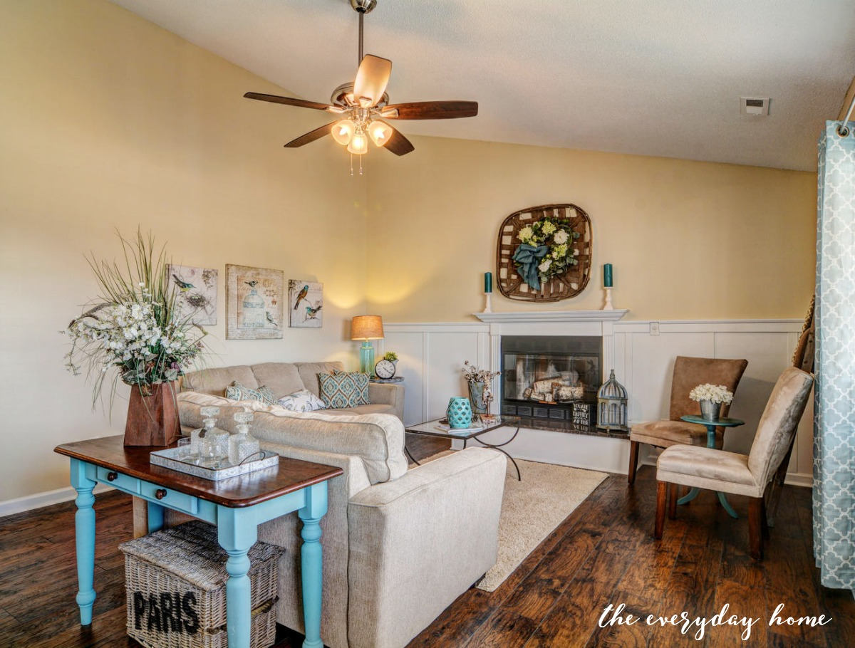 Flip House LR After | The Everyday Home