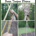 How to Build a Bean Teepee Frame