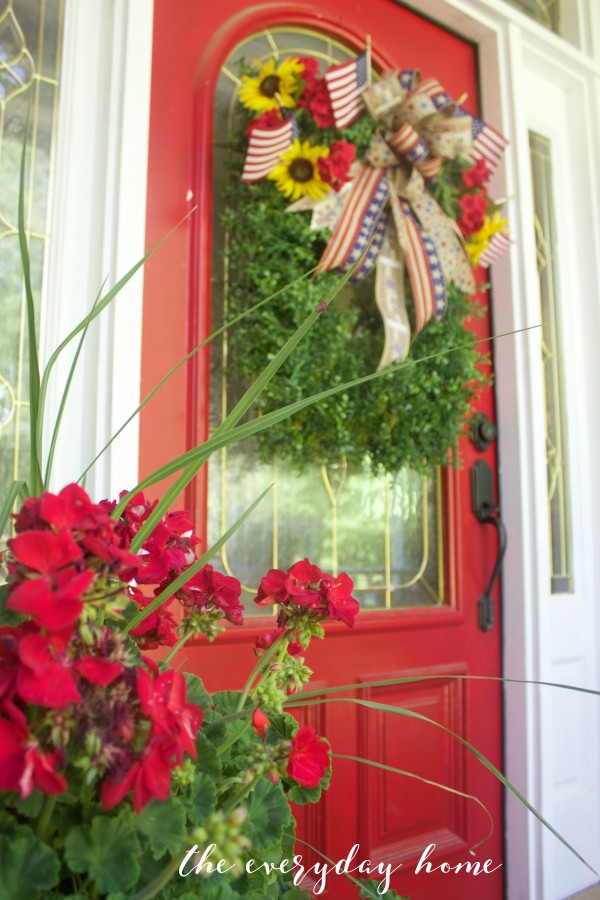 Americana Porch | The Everyday Home