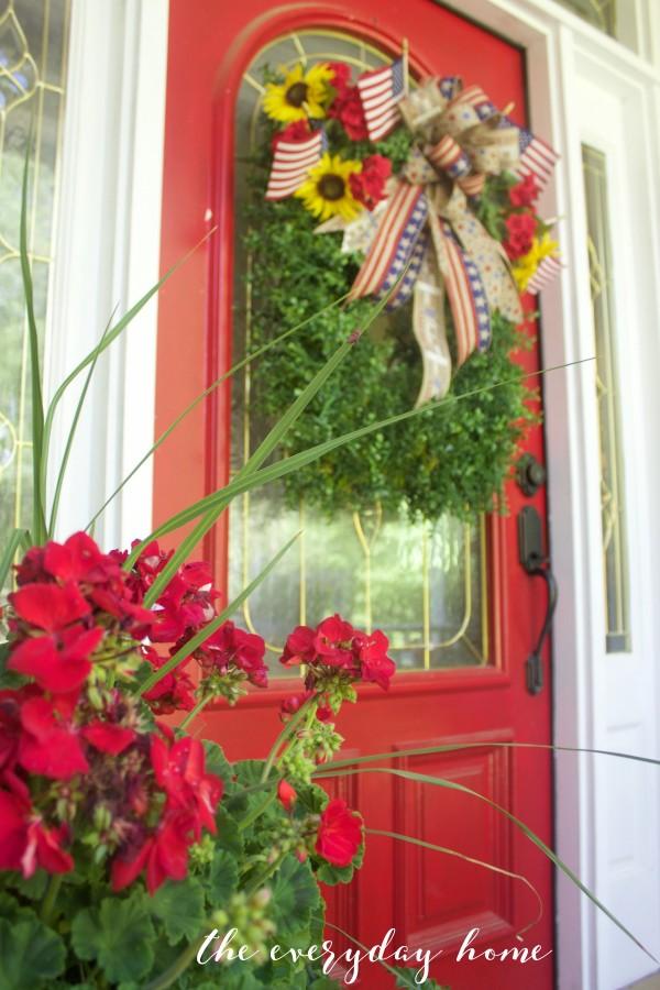 Americana Porch   The Everyday Home