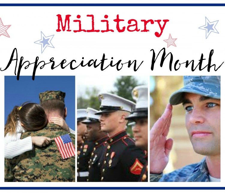 Military Appreciaton Month | The Everyday Home