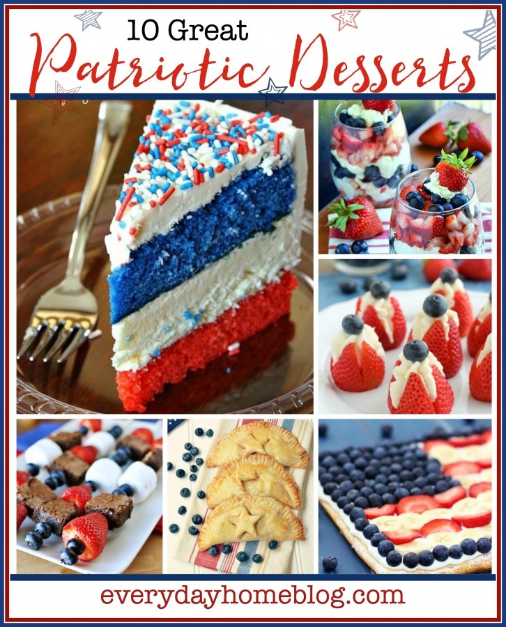 Patriotic Desserts | The Everyday Home