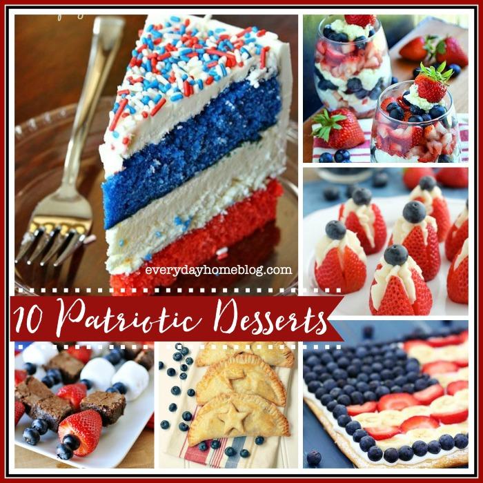 10 Great Patriotic Desserts
