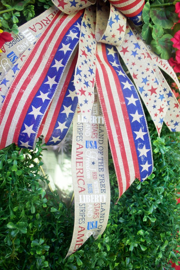 Patriotic Ribbons   The Everyday Home