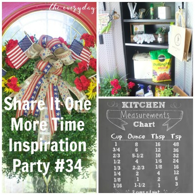 Share It One More Time Inspiration Party #34