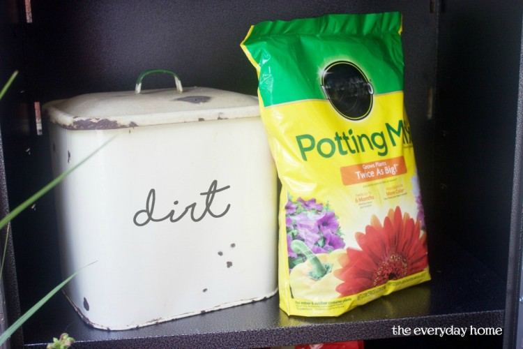 Storing Potting Soil | The Everyday Home