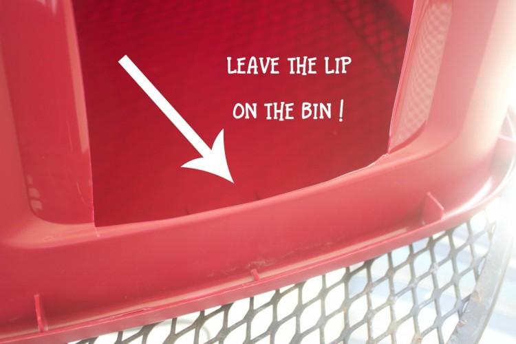 The cut bin