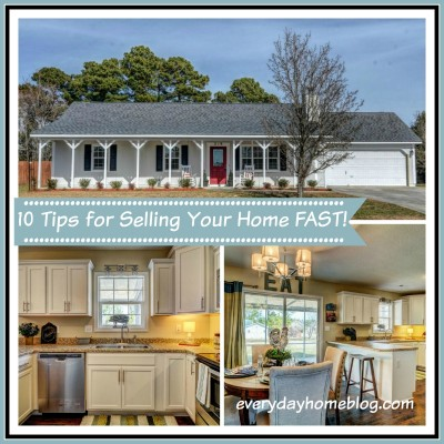 10 Tips for Selling Your Home Fast