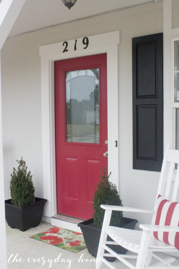 Transform Your Front Door | The Everyday Home