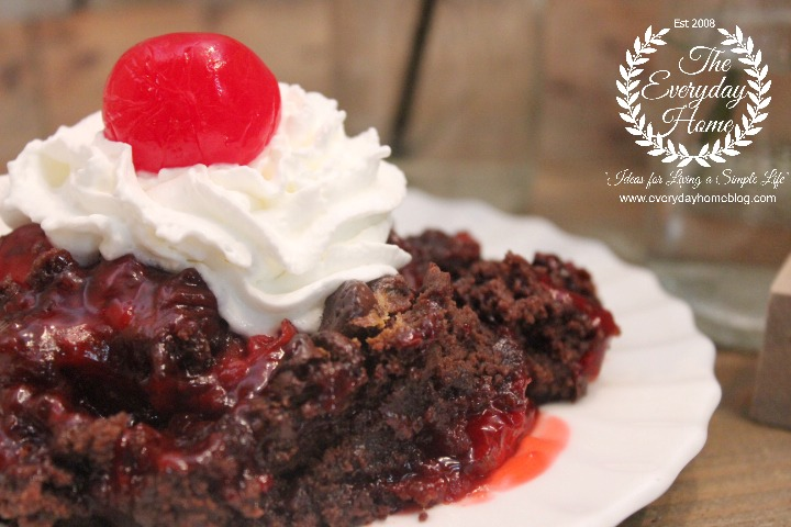 Black Forest Dump Cake | The Everyday Home
