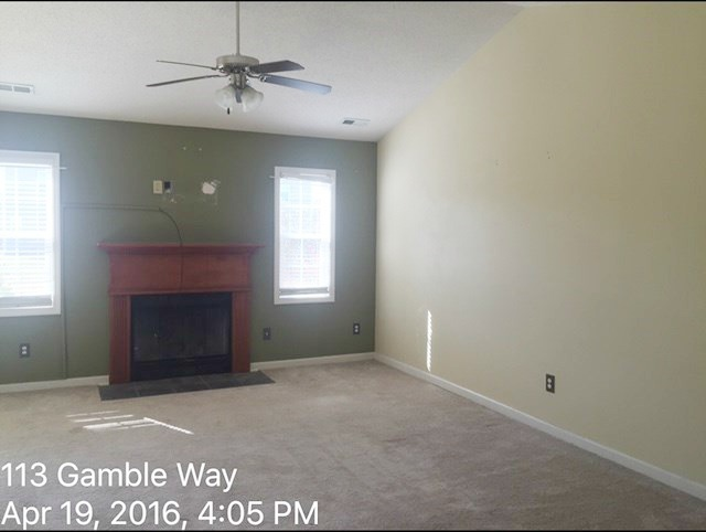 113 Gamble Way LR Before 2