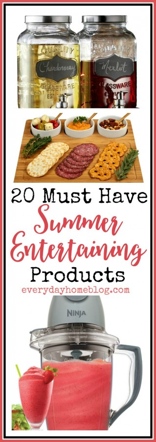 20 Must Have Summer Entertaining Products | The Everyday Home | everydayhomeblog.com