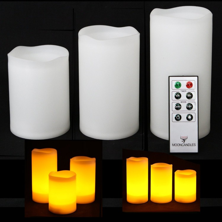 Weatherproof Outdoor Remote Candles