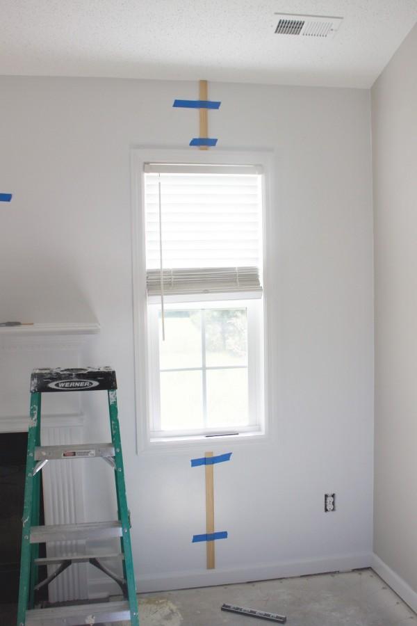 Adding Vertical Wall Slats