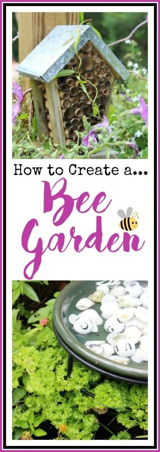 Creating a Bee Garden | The Everyday Home | everydayhomeblog.com