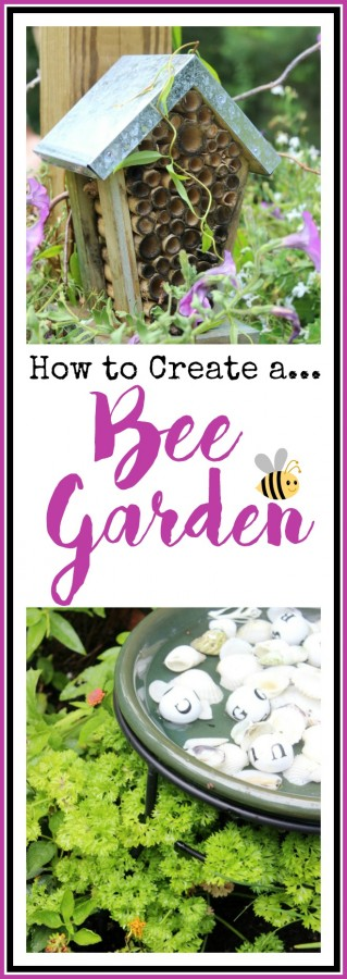 Creating a Bee Garden | The Everyday Home | www.everydayhomeblog.com