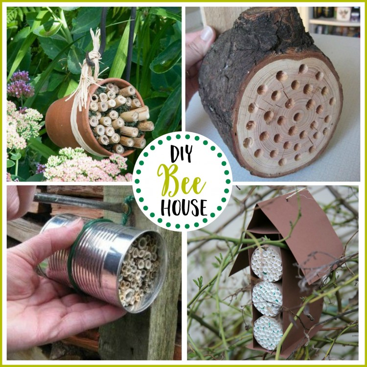 DIY Bee Houses | The Everyday Home | www.everydayhomeblog.com