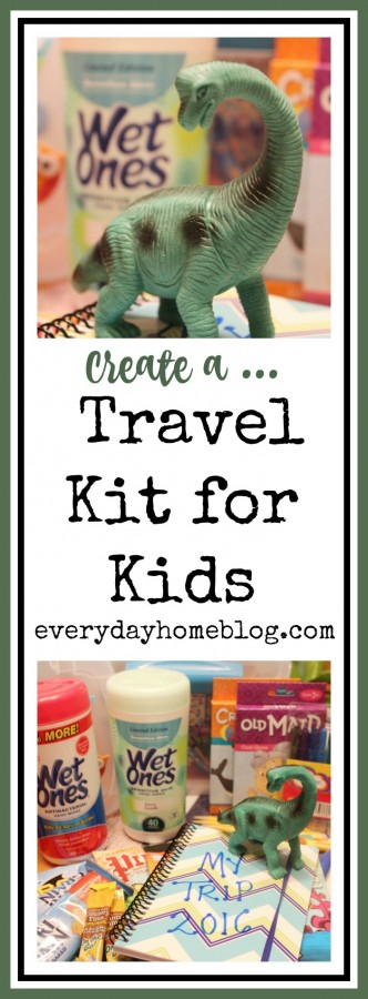 DIY Travel Kits for Kids | The Everyday Home | everydayhomeblog.com
