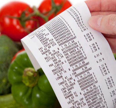Grocery Store Receipt