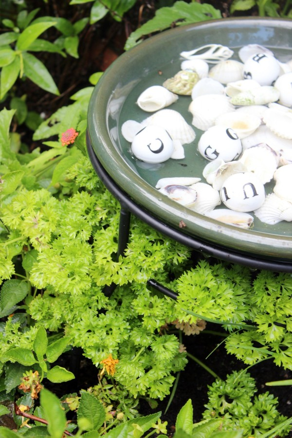 Herbs in the Bee Garden | The Everyday Home
