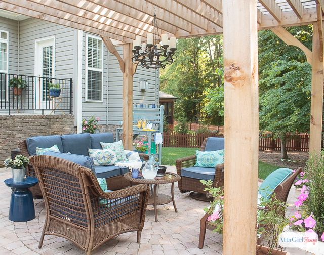 Patio Decorating Ideas Reveal 10 The Everyday Home