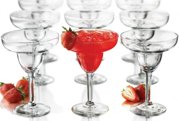 12-Pc Margarita Glass Set
