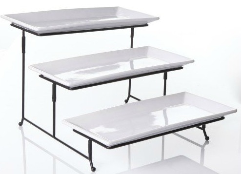 3-Tier Serving Stand & Platters