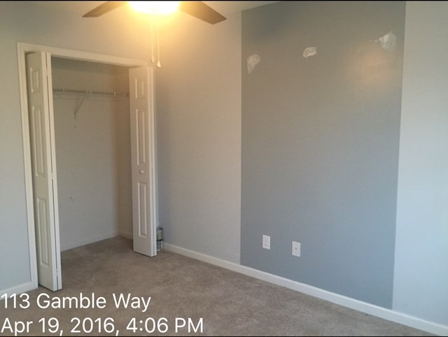 113 Gamble Way Guesr Bedroom Before 2