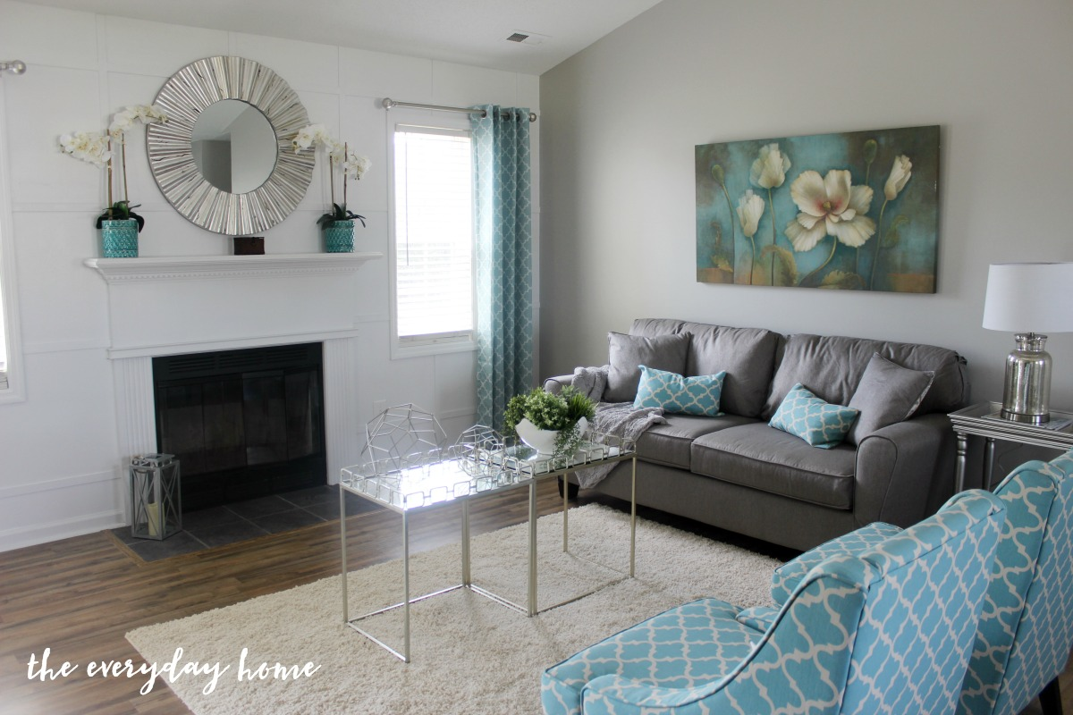 How to Create an All White Accent Wall - The Everyday Home