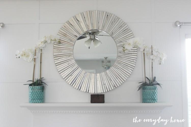 Fireplace Wall Makeover | The Everyday Home | www.everydayhomeblog.com