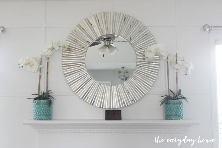 Fireplace Wall Makeover | The Everyday Home | www.everydayhomeblog.com