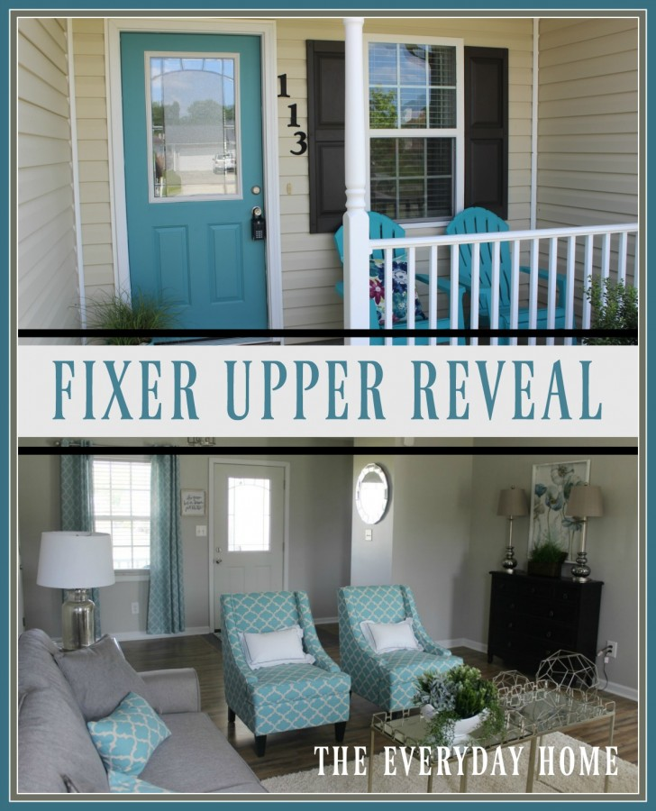 Fixer Upper Reveal | The Everyday Home | www.everydayhomeblog.com