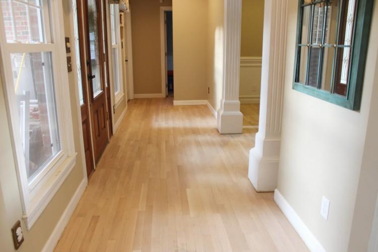 Foyer After Sanding