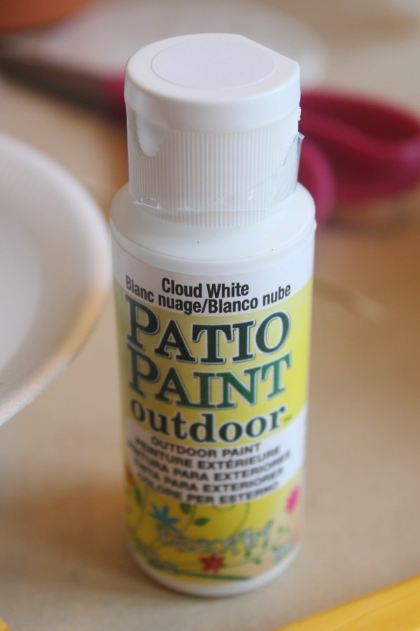 Patio Paint | The Everyday Home