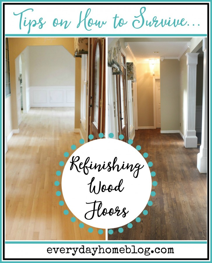 tips on surviving refinishing wood floors the everyday home