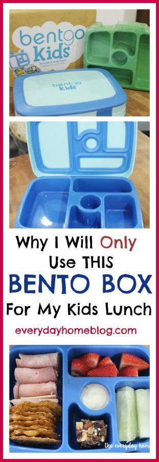 Bento Box for Kids Lunch | The Everyday Home | www.everydayhomeblog.com