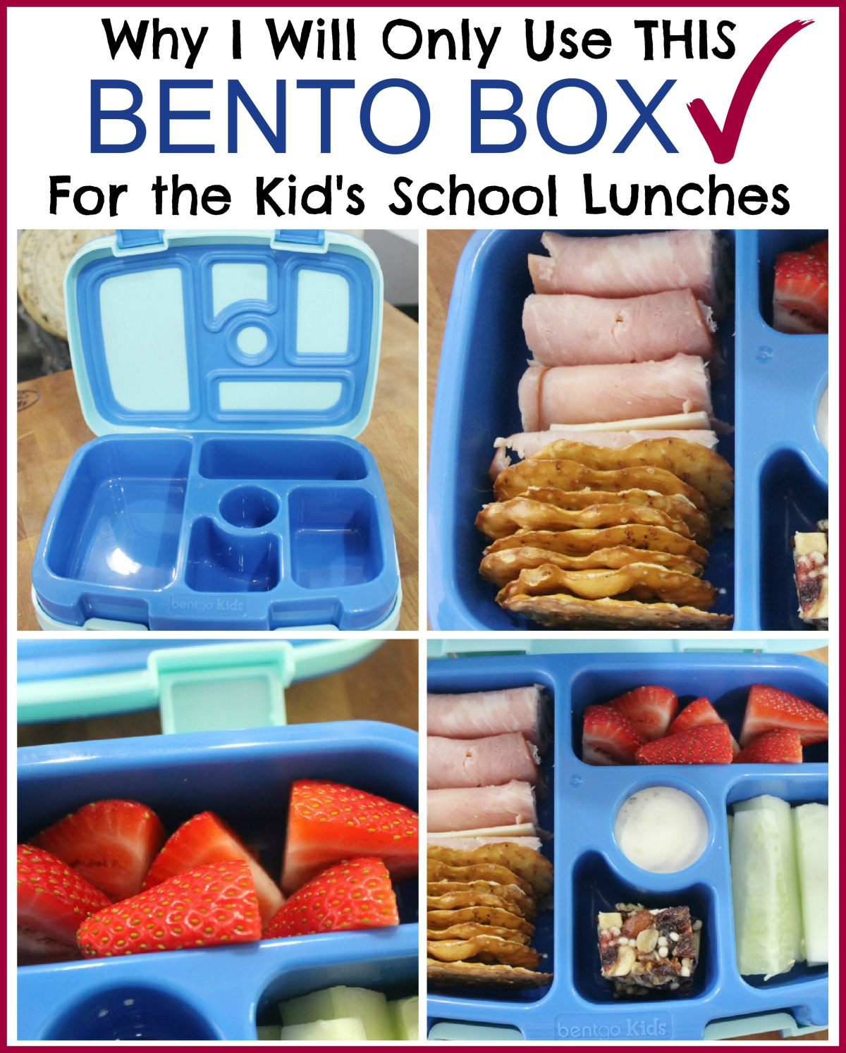 Using Bento Boxes for School Lunches | The Everyday Home