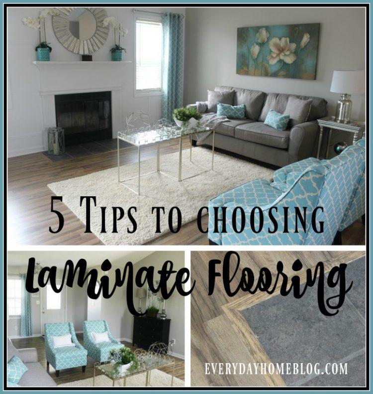 Choosing Laminate Flooring | The Everyday Home | www.everydayhomeblog.com