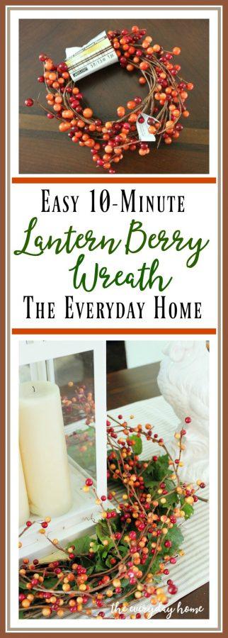 10-Minute-Berry-Wreath | The Everyday Home | www.everydayhomeblog.com