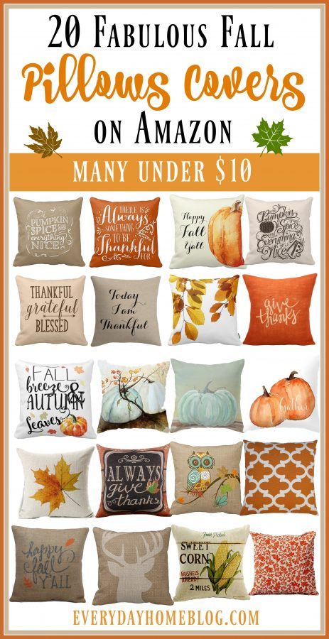 20-fabulous-fall-pillow-covers-on-amazon | the everyday home | www.everydayhomeblog.com