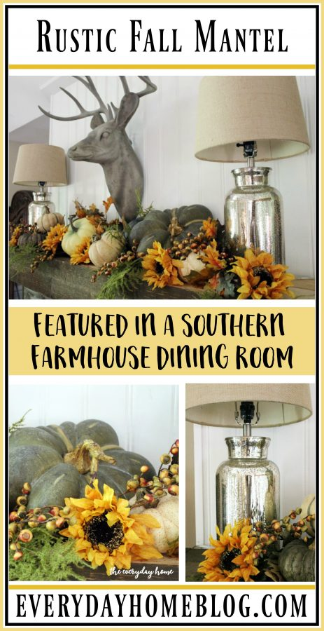 a-southern-farmhouse-rustic-fall-mantel   The Everyday Home   www.everydayhomeblog.com