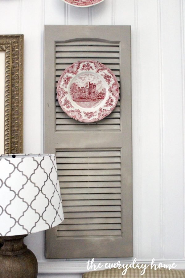 adding-shutters-to-a-dining-room-wall | The Everyday Home | www.everydayhomeblog.com